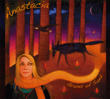 Anastacia Beth Scott's CD, Grains of Sand, back cover